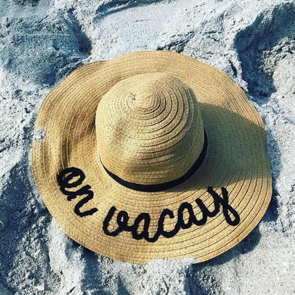 Accessories - On vacay beach sunhat hat c0417474c8a4